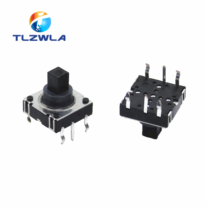 5PCS 5-Position 5 Way Switch 10*10*10MM Multi Directional Tactile Switch DIP-6