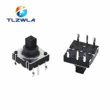 5 pçs/lote DIP 5 Cinco way Switch Multi-direção Interruptor de Toque Chave De Reset 10*10*10 MM Pin Multi direção