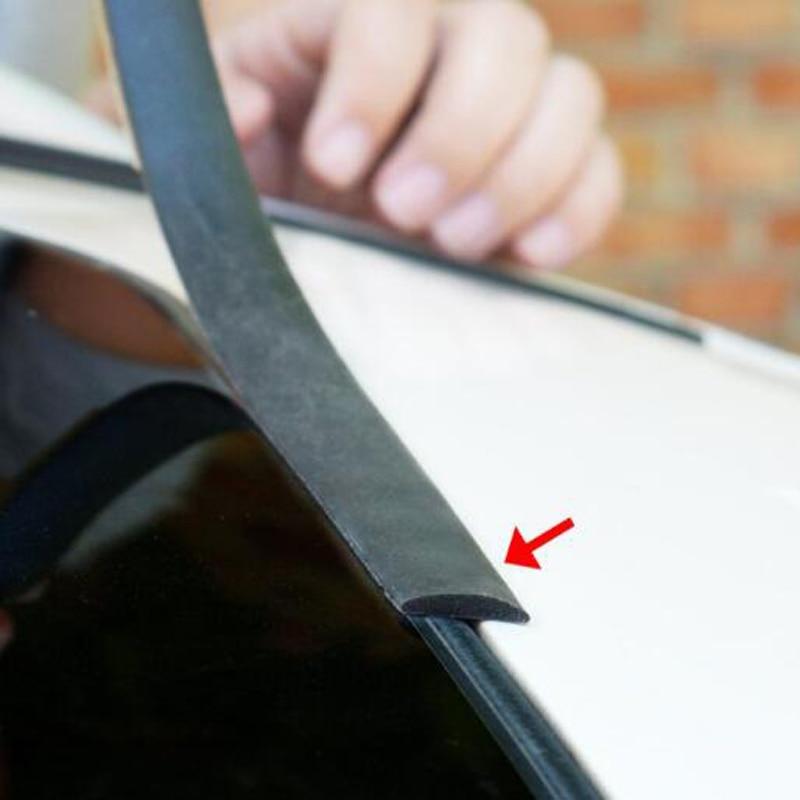 Резиновые полоски для лобового стекла, 3 м, герметичные полоски для защиты от солнца, Стайлинг автомобиля, автомобильные аксессуары для Toyota prado 120 fj150 land cruiser 80|Наклейки на автомобиль|   | АлиЭкспресс