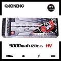 Gaoneng GNB 9000mAh 2S 7,6 V HV 120C/240C Hardcase LiHV перезарядка LiPo батарея T Разъем для RC HPI HSP 1/8 1/10 багги RC автомобиль грузовик