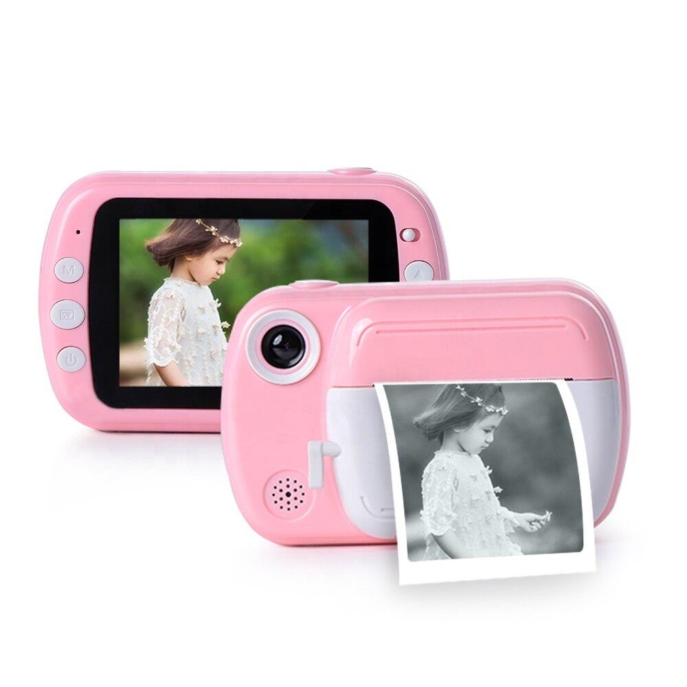 Landzo Hot Digital SLR Camera for Kids,1080p 12.0Million Pixels Thermal Instant Print Photo Toys Camera Video Children Toy Gift