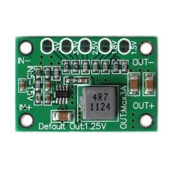New DC Step Down Power Converter Board 5-16V To 1.25V 1.5V 1.8V 2.5V 3.3V 5V 3A - discount item  33% OFF Portable Audio & Video