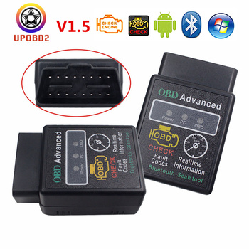 Super Mini OBD2 HHOBD V1.5 elm 327 Bluetooth/WiFi Advanced Code Reader ELM327 hhobd obd 2 Car Scanner Tool For iOS/Android/PC image