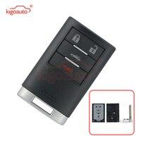 Kigoauto 25926479 botão caso chave Inteligente 4 M3N5WY7777A para Chevrolet Corvette 2008 2009 2010 2011 2012 2013|Chave do carro|   -