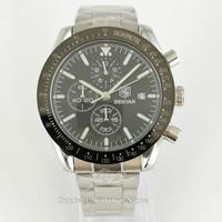 Relojes BENYAR para hombres reloj cronógrafo de cuarzo deportivo de marca de lujo para hombres reloj de oro plateado relocio Masculino envío gratis