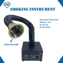 Soldering-Cleaner Fume-Extractor TBK-805 Purification Mini with Led-Light Smoking-Instrument