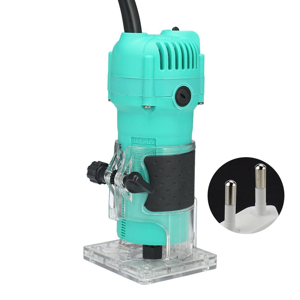 35000 tr/min rainurage Stable électrique bois routeur outil de travail du bois Portable léger main tondeuse sculpture Machine gravure