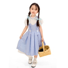 Cosplay Clothing Dress Peasant-Costume Wizard One-Piece Girls Child for 4-11T Group Oz