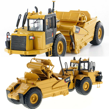 Diecast Masters Norscot 1/50 Wheel Tractor Scraper 613G Model 55235 Truck Toys kids toys gifts caterpillar cat m316d wheel excavator 1 50 model by diecast masters 85171