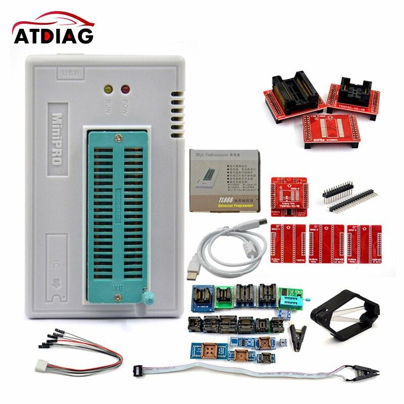 2021 venda quente 12/17/28 adaptador tl866ii usb universal programador tl866 ii mais geração de tl866cs/tl866a