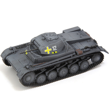 1:72 Tanque 2 C 5th blindado División Panzer Polonia 1939 fundición Diorama del producto terminado modelo realista juguetes de los niños Kit