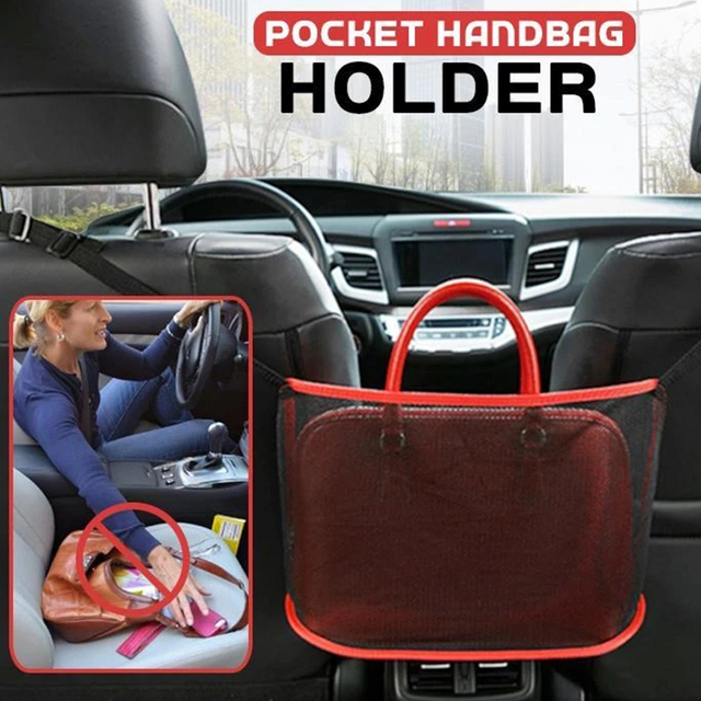 Car Net Pocket Handbag Holder 4
