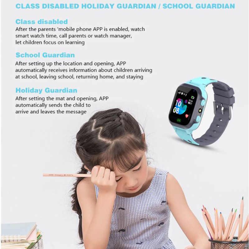 Z1 ساعة ذكية للأطفال LBS المقتفي SOS دعوة مكافحة خسر ساعة ذكية لتتبع الأطفال الأطفال ساعات الهاتف لصبي بنات pk Q50 Q60 Q528 Q90 Q100