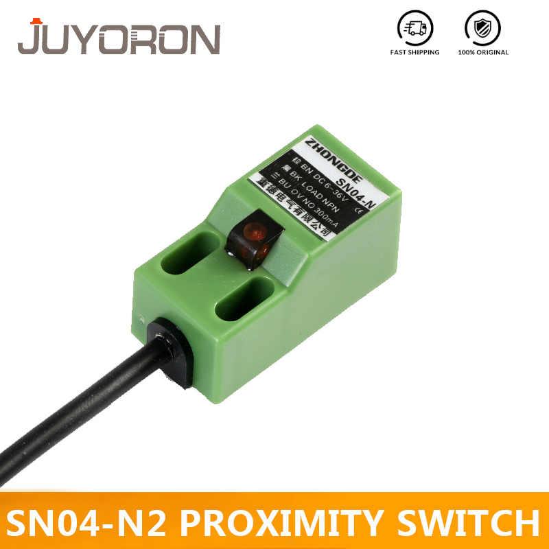 SN04-N 4mm Green Inductive Proximity Sensor Detection Switch CNC NPN NO DC 6-36V