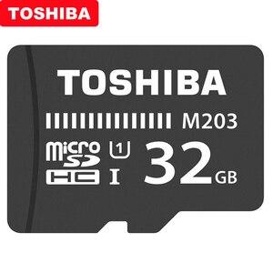 Image 2 - 기존 toshiba micro sd 카드 m203 클래스 10 16 gb 32 gb 64 gb 128 gb 256 gb 메모리 카드 sdhc sdxc UHS I tf 카드 (스마트 폰/tv 용)