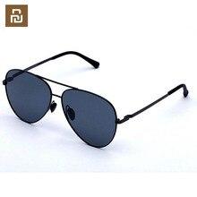 Youpin Turok TS gafas de sol polarizadas de acero inoxidable, lentes de cristal con protección UV400 para niños, para viajes al aire libre, unisex