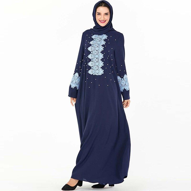 Dubai Abaya Hijab Muslim Dress Kaftan Islamic Clothing Women Abayas Turkish Dresses Omani Caftan Marocain Islam Donna Kleding
