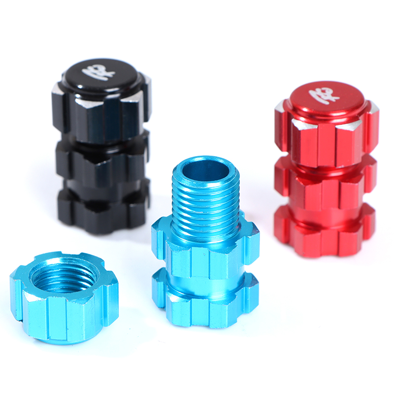 4Pcs 17mm Hex Nuts Splined Wheel Hubs Aluminum For RC 1//10 MA YM6K