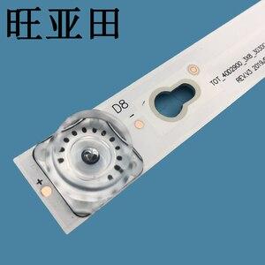 Image 4 - ชุดใหม่ 3 PCS 8LED 69 ซม.LED BacklightสำหรับL40F3301B L40P F 4C LB4008 HR01J 40D2900 40HR330M08A6 V8 L40E5800A L40F3301B