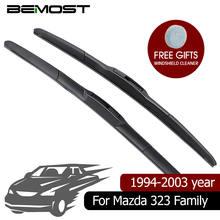 Резиновые автомобильные щетки стеклоочистителя bemost для mazda