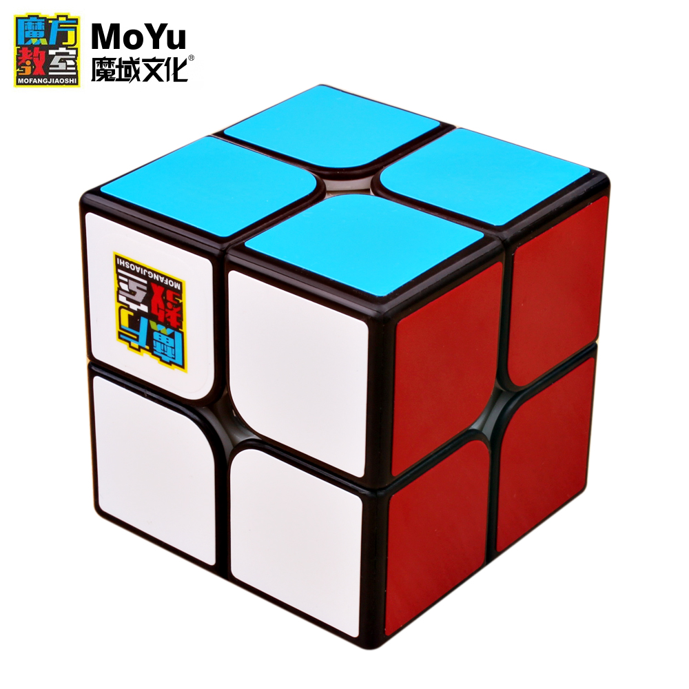 New MoYu MF2S 2x2x2 Cubing Classroom Magic Speed Cube Professional Puzzle Twist Pocket Cubo Magico 2x2 Toys For Children Gift