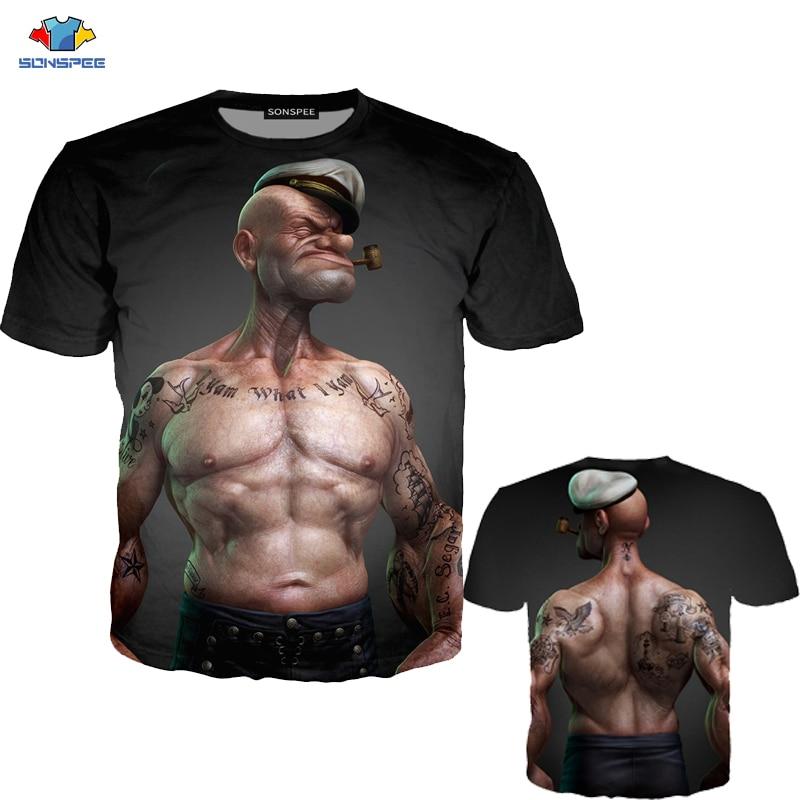 Brother Shark T-Shirts Short Sleeve Denim Hat Men