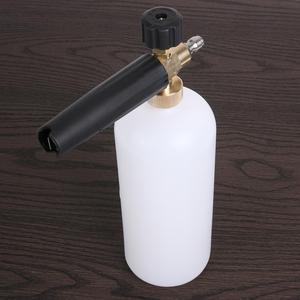 """Image 4 - Multifunções lavadora de pressão de água limpa carro espuma pistola jato lavagem 1/4 """"liberação rápida estilo do carro ajustável neve lança espuma ferramenta"""