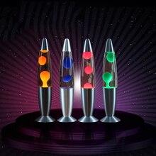 Светодиодный ночной Светильник лава лампа Декоративные Медузы светильник Спальня прикроватная лампа креативное украшение вилка стандарта ЕС/США