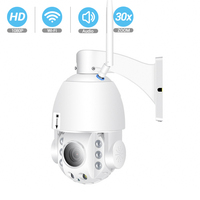 BESDER Outdoor 30X Zoom PTZ IP Camera Wifi 1080P Auto Focus Speed Dome Camera Two way Audio Full Color Night Vision Waterproof