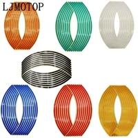 Wheel Sticker Reflective Rim Stripe Tape Bike Motorcycle Stickers  4