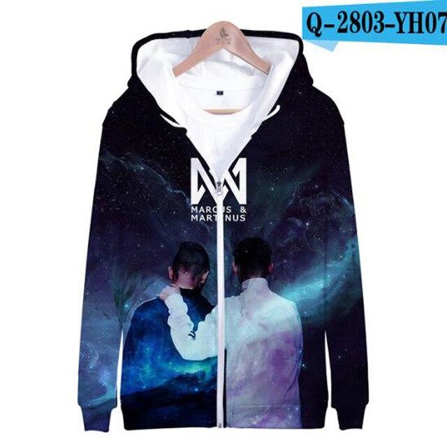 3 To 14 Years Kids Hoodie Marcus and Martinus 3D Hoodies Sweatshirt Boys Girls Fashion Harajuku Jacket Coat Children Clothes 11