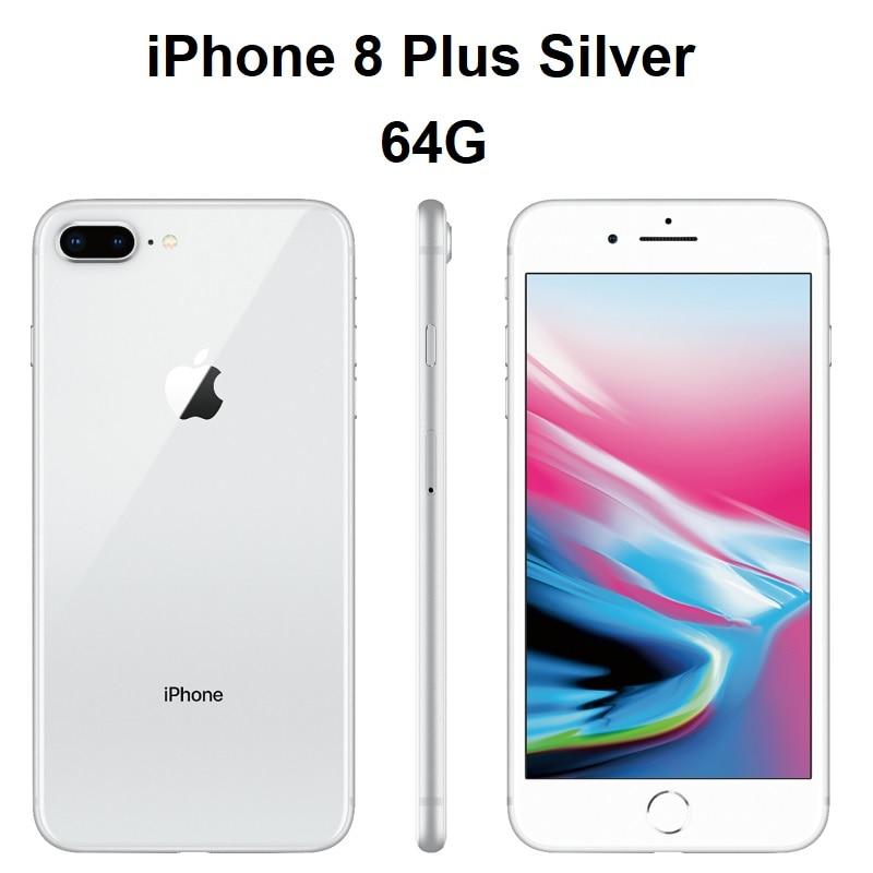 8 Plus Silver 64G