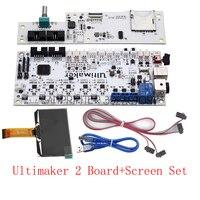 Ultimaker2 3D Printer Part DIY Full Board Set Kit, UM2 V2.1.4 Control Panel + LCD Screen + Motherboard