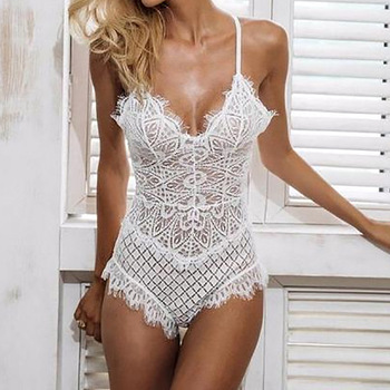 Sexy Lace Bodysuit Women Bodycon Jumpsuit Summer Cut Out Rompers Club Womens Jumpsuit Body Top Overalls Feminino Playsuit GV629 1