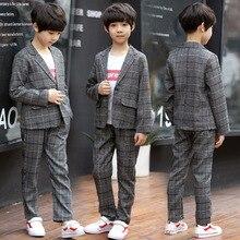 New 5-10 years old handsome boy suit boy baby autumn clothes big children childr