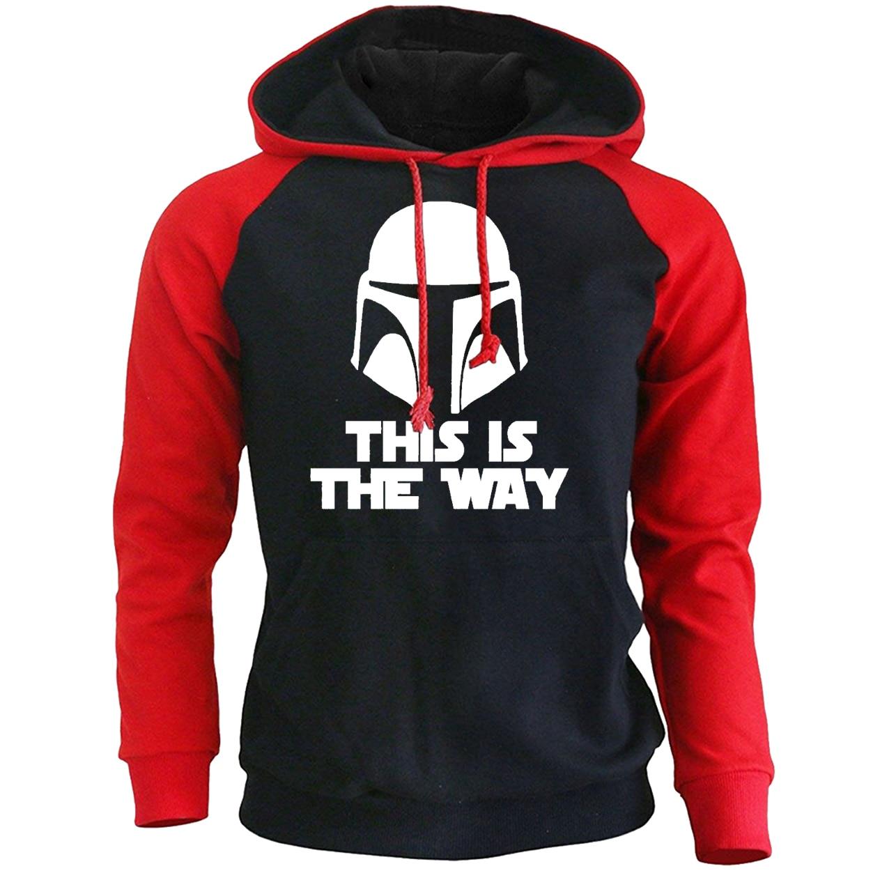 Star Wars Hoodie Sweatshirt Rise Of Skywalke Tracksuit This Is The Way The Mandalorian Hoodies Men Sweatshirt Starwars Pullover