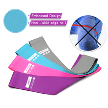 New Resistance Bands Pilates Sport Non-slip Rubber Fitness Workout Equipment Training Gum Exercise Gym Strength
