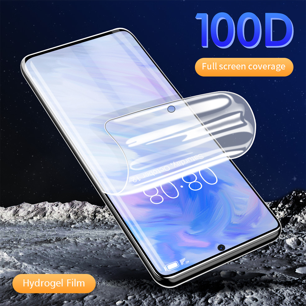 Hydrogel Film For <font><b>Samsung</b></font> Galaxy S20 S20 plus Screen Protector For A50 A30 A20 A70 A10 S8 S9 S10 plus Note 8 9 Film Not <font><b>Glass</b></font> image