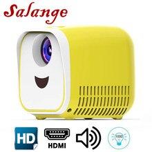 Светодиодный мини-проектор Salange L1, 480x320, 1080P, HDMI, USB