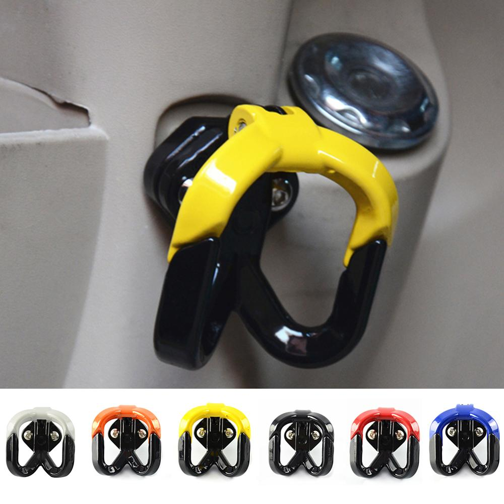 Universal Motorcycle Hook Luggage Bag Hanger Helmet Claw Double Bottle Carry Holders For ATV Dirtbike Scooter Moto Accessories