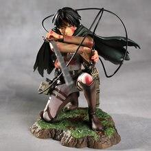 Levi Ackerman Heichov Attack on Titan Figurine d'action Anime Shingeki no Kyojin Figurine à collectionner PVC résine modèle Statue Action