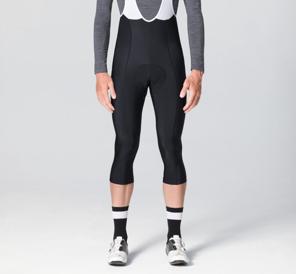2019 Black thermal fleece Winter <font><b>bib</b></font> <font><b>shorts</b></font> cycling pants with high density Pad high quality fabric for long time ride image