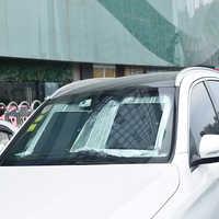 XINPUGUANG Marca panel solar plegable Universal parabrisas del coche Parabrisas delantero Visera Calefacción frontal Bloqueo trasero Pantalla Pantalla Pantalla solar Reflectante Cargador de parasoles