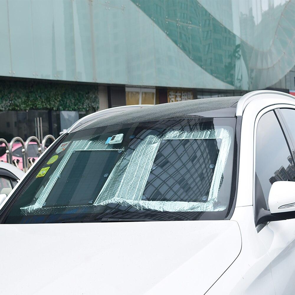 Xinpuguang Brand Faltbares Solarmodul Universelle Autowindschutzscheibe Frontscheibe Wärmeschutzabdeckung Frontseite Heckscheibenblock Sonnenschutz Reflektierende Sonnenschutz-Ladestation