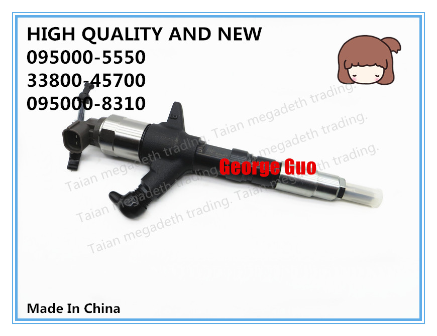 Image 2 - HIGH QUALITY AND NEW DIESEL FUEL INJECTOR 095000 5550, 33800 45700, 095000 8310 FOR HD78 3.9L ENGINEFuel Inject. Controls & Parts   -