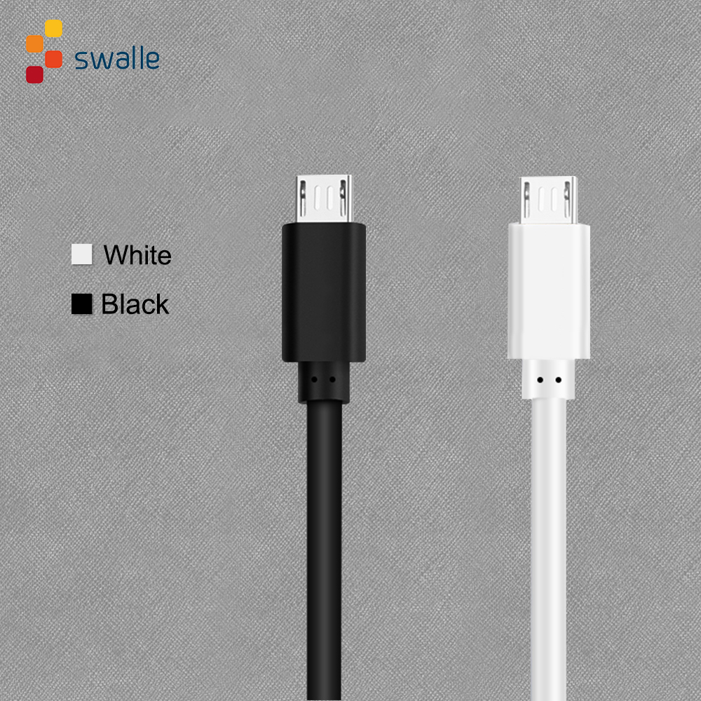 Swalle Micro USB Cable 1m 2m 3m Fast Charge USB Data Cable for Samsung S6 S7 Xiaomi Tablet Android Mobile Phone USB Charging(China)