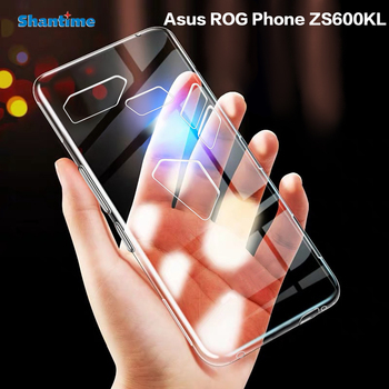 For Asus ROG Phone ZS600KL Case Ultra Thin Clear Soft TPU Case Cover For Asus ROG Phone Couqe Funda контроллер игровой asus gamevice asus zs600kl черный [90ac0390 bcl001]