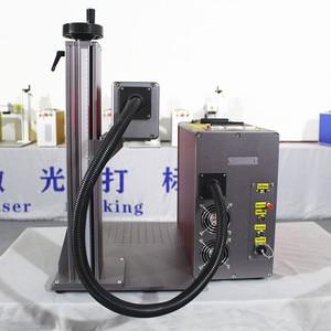 Image 2 - 30 ワット分割繊維レーザーマーキング機レーザー彫刻機銘板レーザーマッハステンレス鋼マーキング