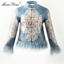 MoaaYina High Quality Fashion Designer Jacket jacket Autumn