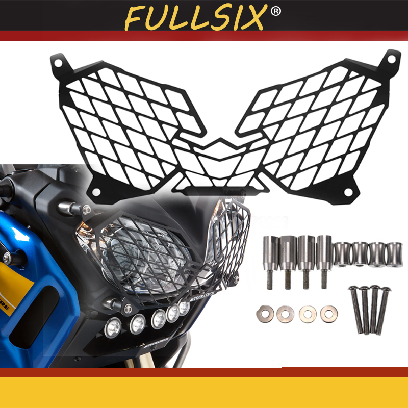 Motorcycle Modification Headlight Guard Protector Protector Grille Cover For XT1200Z XT 1200 Z Super Tenere 2010-2018